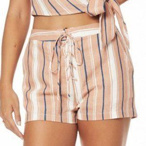Lost Wander Pleasure Harbour Shorts Mauve stripe 4
